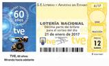 Décimo del sorteo de Lotería Nacional del 21 de Enero de 2017