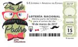 Décimo del sorteo de Lotería Nacional del 18 de Marzo de 2017