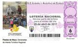 Décimo del sorteo de Lotería Nacional del 29 de Abril de 2017