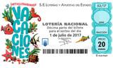 Décimo del sorteo de Lotería Nacional del 1 de Julio de 2017