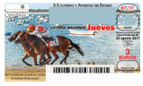 Décimo del sorteo de Lotería Nacional del 24 de Agosto de 2017