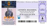 Décimo del sorteo de Lotería Nacional del 24 de Marzo de 2018