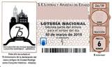 Décimo del sorteo de Lotería Nacional del 30 de Marzo de 2019