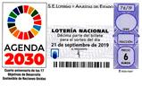 Décimo del sorteo de Lotería Nacional del 21 de Septiembre de 2019