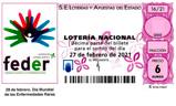Décimo del sorteo de Lotería Nacional del 27 de Febrero de 2021