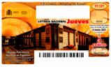 Décimo del sorteo de Lotería Nacional del 4 de Marzo de 2021