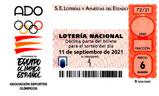 Décimo del sorteo de Lotería Nacional del 11 de Septiembre de 2021