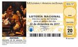 Décimo del sorteo de Lotería Nacional del 22 de Diciembre de 2017