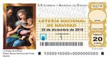Décimo del sorteo de Lotería Nacional del 22 de Diciembre de 2019